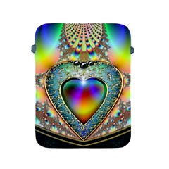 Rainbow Fractal Apple Ipad 2/3/4 Protective Soft Cases by BangZart