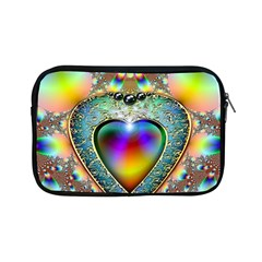 Rainbow Fractal Apple Ipad Mini Zipper Cases