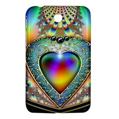 Rainbow Fractal Samsung Galaxy Tab 3 (7 ) P3200 Hardshell Case  by BangZart