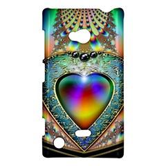 Rainbow Fractal Nokia Lumia 720 by BangZart