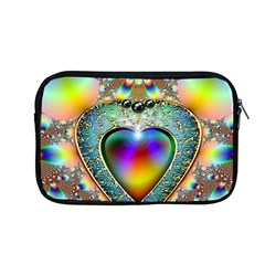 Rainbow Fractal Apple Macbook Pro 13  Zipper Case by BangZart