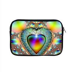 Rainbow Fractal Apple Macbook Pro 15  Zipper Case