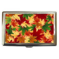 Autumn Leaves Cigarette Money Cases by BangZart