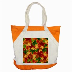 Autumn Leaves Accent Tote Bag by BangZart