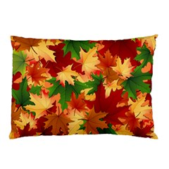 Autumn Leaves Pillow Case by BangZart