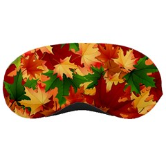 Autumn Leaves Sleeping Masks