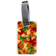 Autumn Leaves Luggage Tags (one Side)  by BangZart