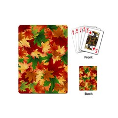 Autumn Leaves Playing Cards (mini)