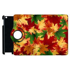 Autumn Leaves Apple Ipad 3/4 Flip 360 Case by BangZart
