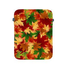 Autumn Leaves Apple Ipad 2/3/4 Protective Soft Cases by BangZart