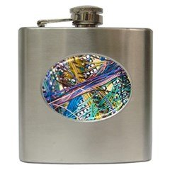 Circuit Computer Hip Flask (6 Oz) by BangZart