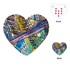 Circuit Computer Playing Cards (heart)  by BangZart