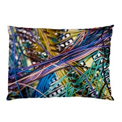 Circuit Computer Pillow Case by BangZart