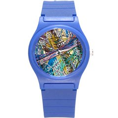 Circuit Computer Round Plastic Sport Watch (s) by BangZart