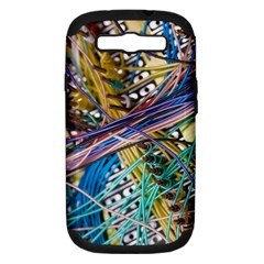 Circuit Computer Samsung Galaxy S Iii Hardshell Case (pc+silicone) by BangZart