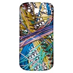 Circuit Computer Samsung Galaxy S3 S Iii Classic Hardshell Back Case by BangZart