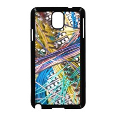 Circuit Computer Samsung Galaxy Note 3 Neo Hardshell Case (black) by BangZart