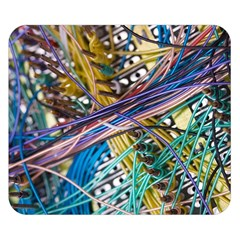 Circuit Computer Double Sided Flano Blanket (small)