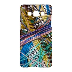 Circuit Computer Samsung Galaxy A5 Hardshell Case  by BangZart