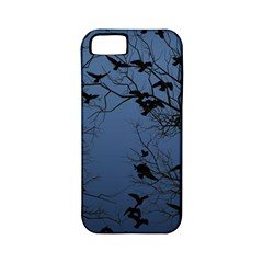 Crow Flock  Apple Iphone 5 Classic Hardshell Case (pc+silicone) by Valentinaart