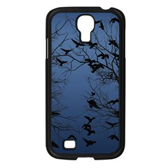 Crow Flock  Samsung Galaxy S4 I9500/ I9505 Case (black) by Valentinaart