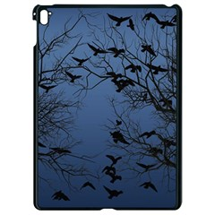 Crow Flock  Apple Ipad Pro 9 7   Black Seamless Case by Valentinaart