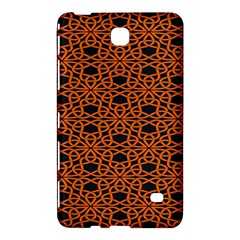 Triangle Knot Orange And Black Fabric Samsung Galaxy Tab 4 (7 ) Hardshell Case  by BangZart
