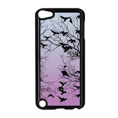 Crow Flock  Apple Ipod Touch 5 Case (black) by Valentinaart