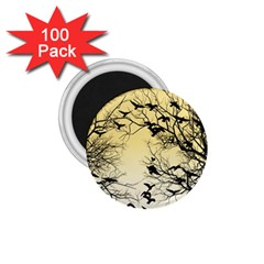 Crow Flock  1 75  Magnets (100 Pack)  by Valentinaart