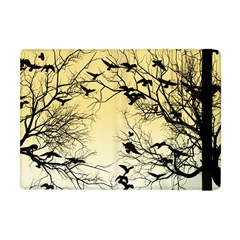 Crow Flock  Apple Ipad Mini Flip Case by Valentinaart