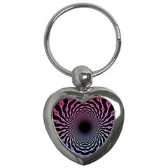 Spider Web Key Chains (heart)