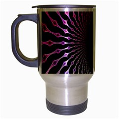 Spider Web Travel Mug (silver Gray) by BangZart