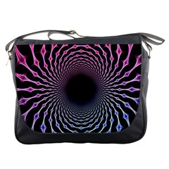 Spider Web Messenger Bags