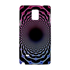 Spider Web Samsung Galaxy Note 4 Hardshell Case by BangZart