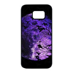 Mars Samsung Galaxy S7 Edge Black Seamless Case by Valentinaart