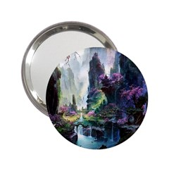 Fantastic World Fantasy Painting 2 25  Handbag Mirrors by BangZart