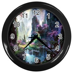 Fantastic World Fantasy Painting Wall Clocks (black) by BangZart