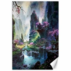 Fantastic World Fantasy Painting Canvas 20  X 30   by BangZart