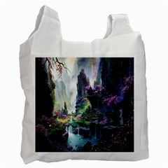 Fantastic World Fantasy Painting Recycle Bag (one Side) by BangZart