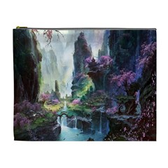 Fantastic World Fantasy Painting Cosmetic Bag (xl)