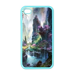 Fantastic World Fantasy Painting Apple Iphone 4 Case (color) by BangZart