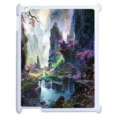 Fantastic World Fantasy Painting Apple Ipad 2 Case (white) by BangZart