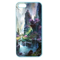 Fantastic World Fantasy Painting Apple Seamless Iphone 5 Case (color) by BangZart