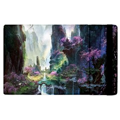 Fantastic World Fantasy Painting Apple Ipad 2 Flip Case by BangZart