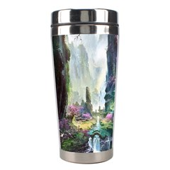 Fantastic World Fantasy Painting Stainless Steel Travel Tumblers by BangZart