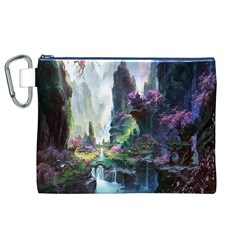 Fantastic World Fantasy Painting Canvas Cosmetic Bag (xl) by BangZart