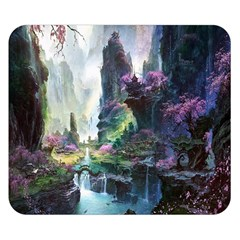 Fantastic World Fantasy Painting Double Sided Flano Blanket (small)  by BangZart