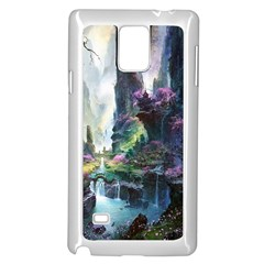 Fantastic World Fantasy Painting Samsung Galaxy Note 4 Case (white)