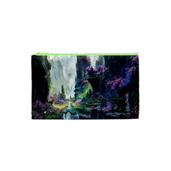 Fantastic World Fantasy Painting Cosmetic Bag (xs) by BangZart