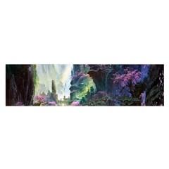 Fantastic World Fantasy Painting Satin Scarf (oblong)